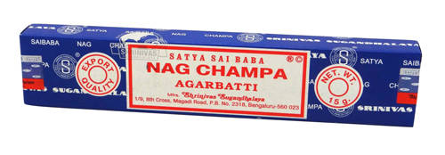 Nag Champa Incense Blue 15g