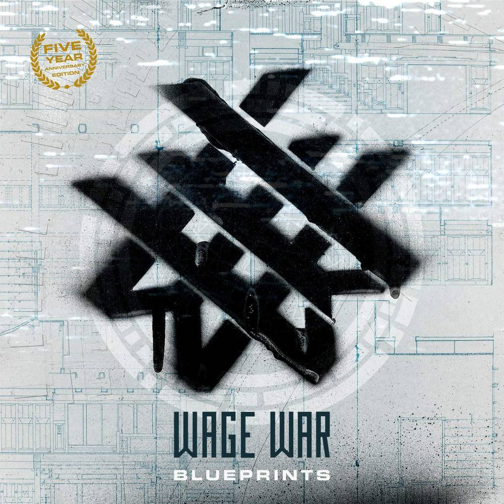 Wage War - Blueprints: Anniversary Edition [Seafoam Marble LP]