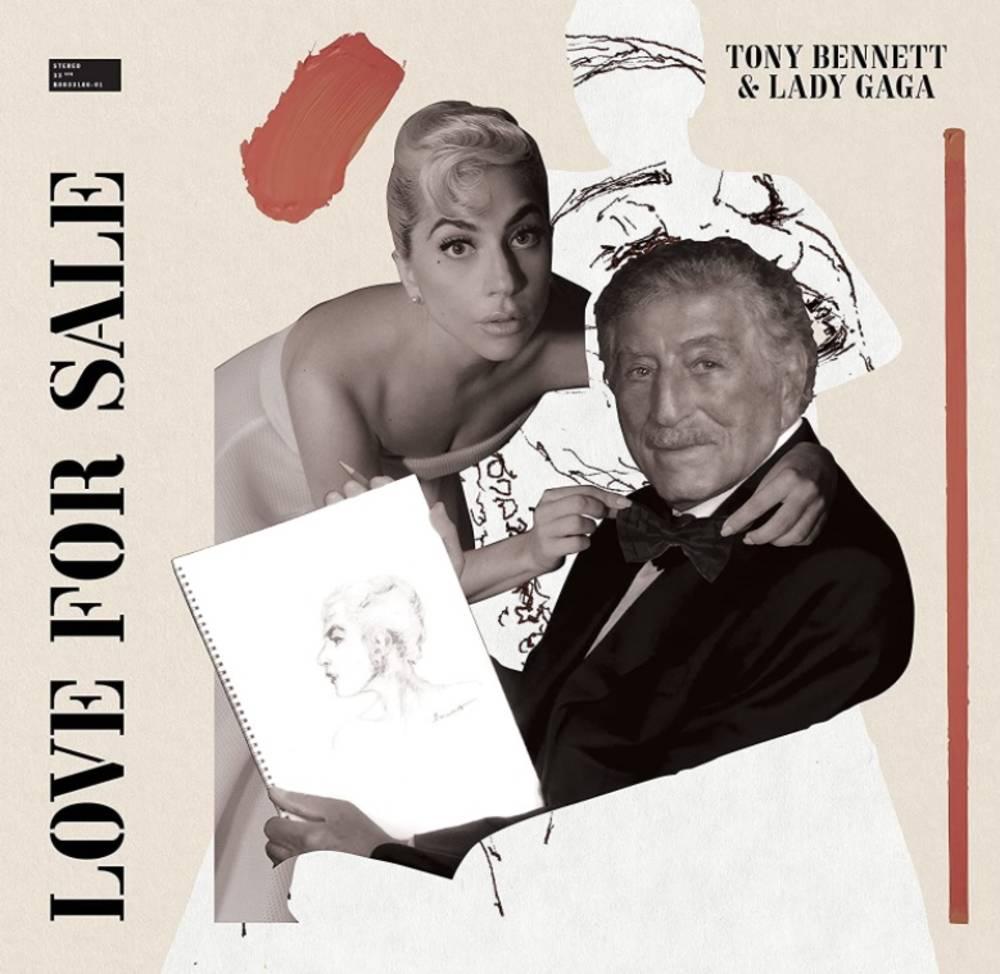 Tony Bennett & Lady Gaga - Love For Sale [Regular - not signed]
