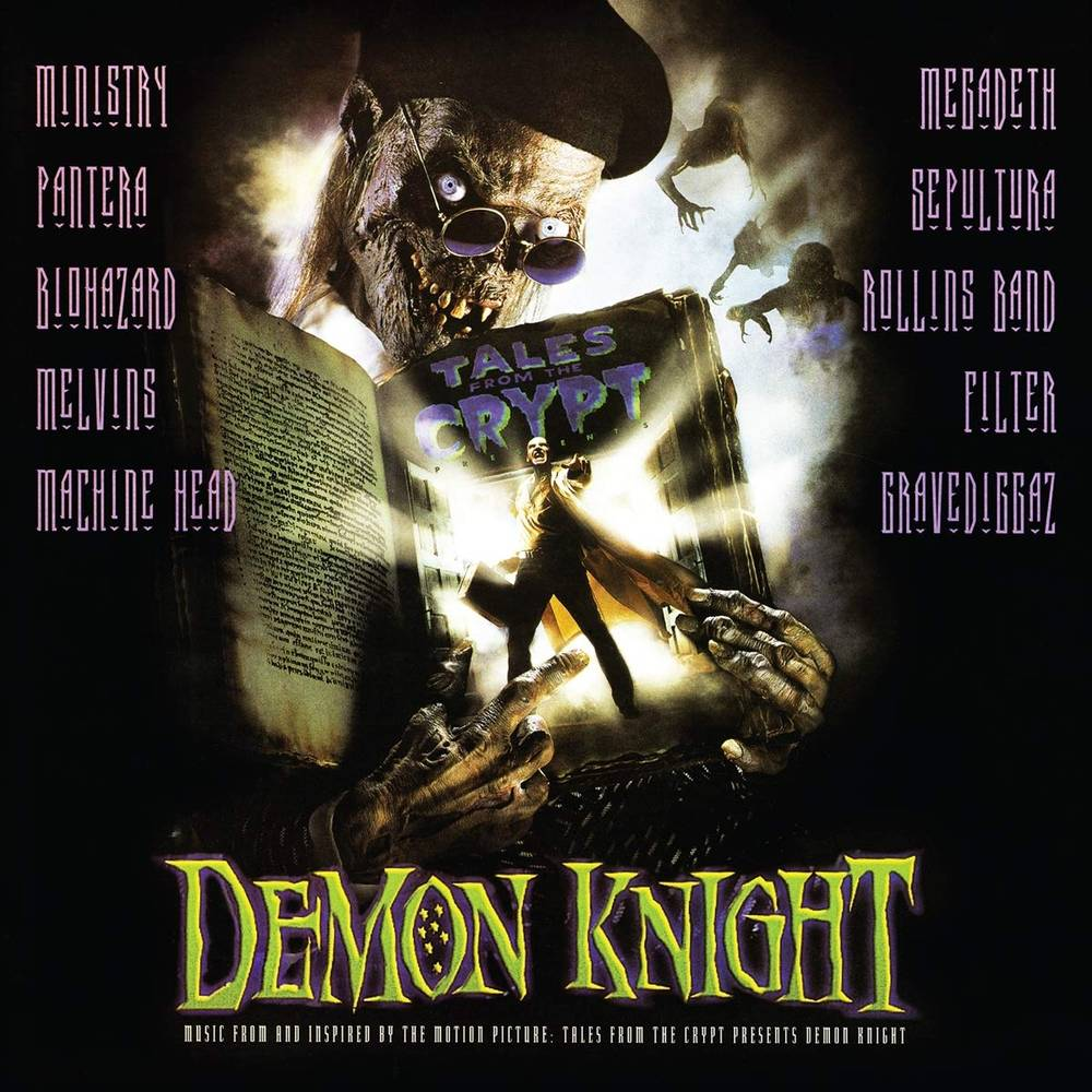 Various Artists - TALES FROM THE CRYPT PRESENTS: Demon Knight—Original Motion Picture Soundtrack [Clear with Green & Purple Swirl LP]