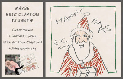 ENTER TO WIN AN ERIC CLAPTON HOLIDAY PRIZE PACK