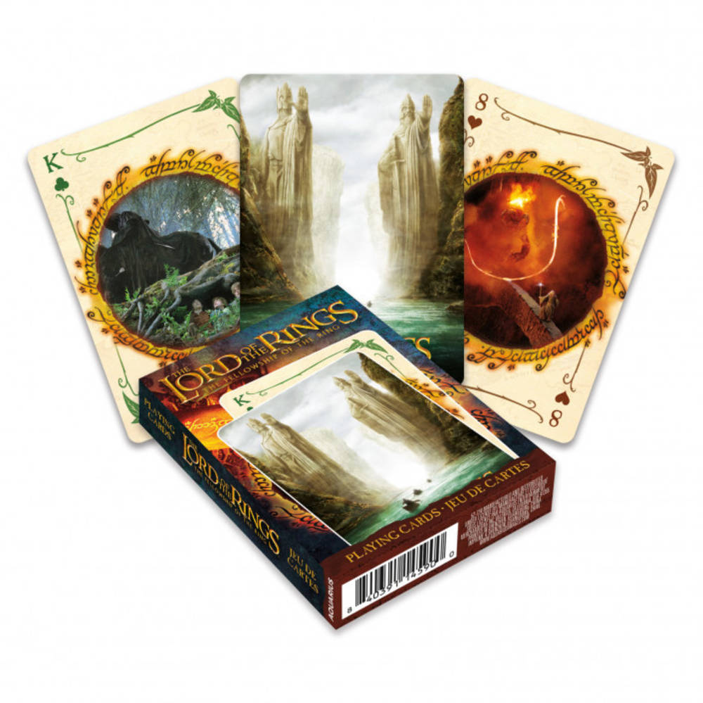 Playing Cards - Lord Of The Rings Fellowship Playing Cards Deck