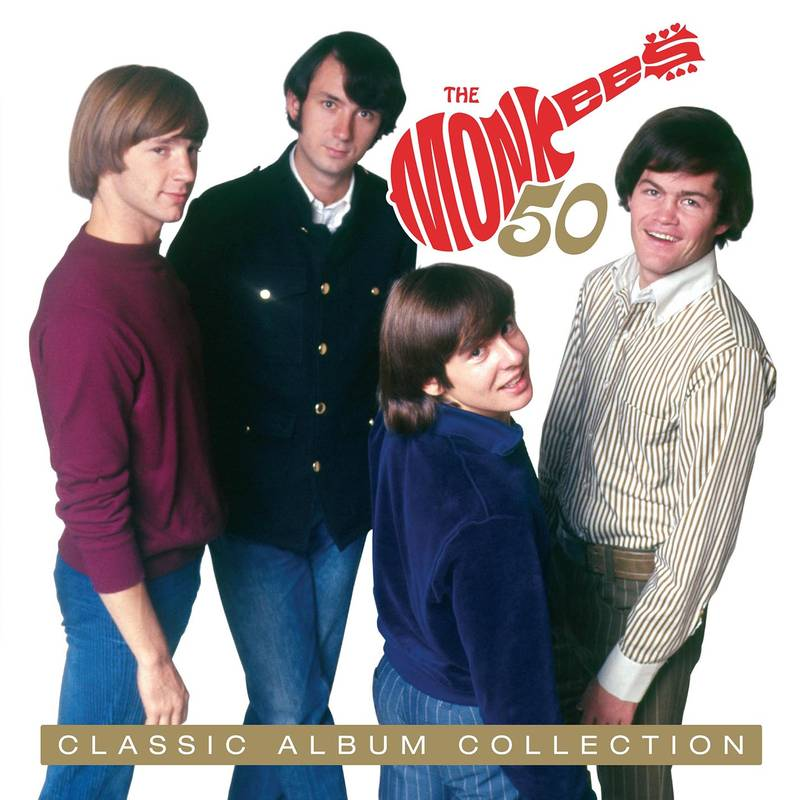 THE MONKEES CLASSIC ALBUM COLLECTION