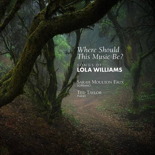 Where Should This Music Be Songs Of Lola Williams