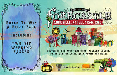 ENTER TO WIN A FORECASTLE FESTIVAL PRIZE PACK!