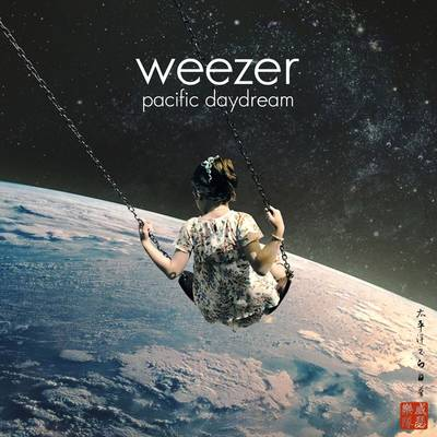 Weezer - Pacific Daydream [Indie Exclusive Limited Edition Red with Black Splatter LP]