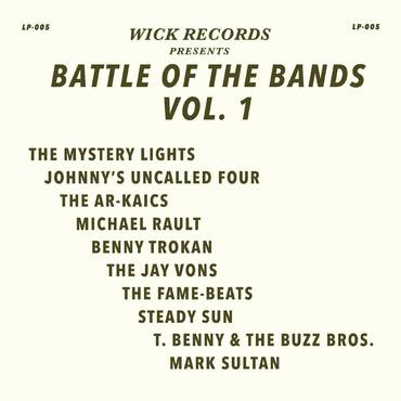 Wick Records Presents Battle of the Bands Vol. 1 [LP]