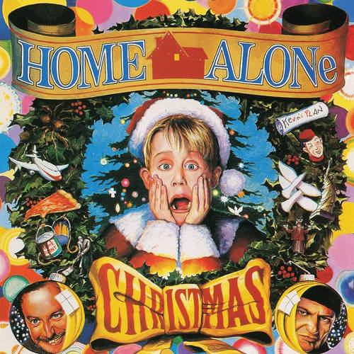 Various Artists - Home Alone Christmas [Clear with Red & Green Christmas Party Swirl LP]