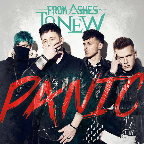 From Ashes to New - Panic [Limited Edition Translucent Red LP]
