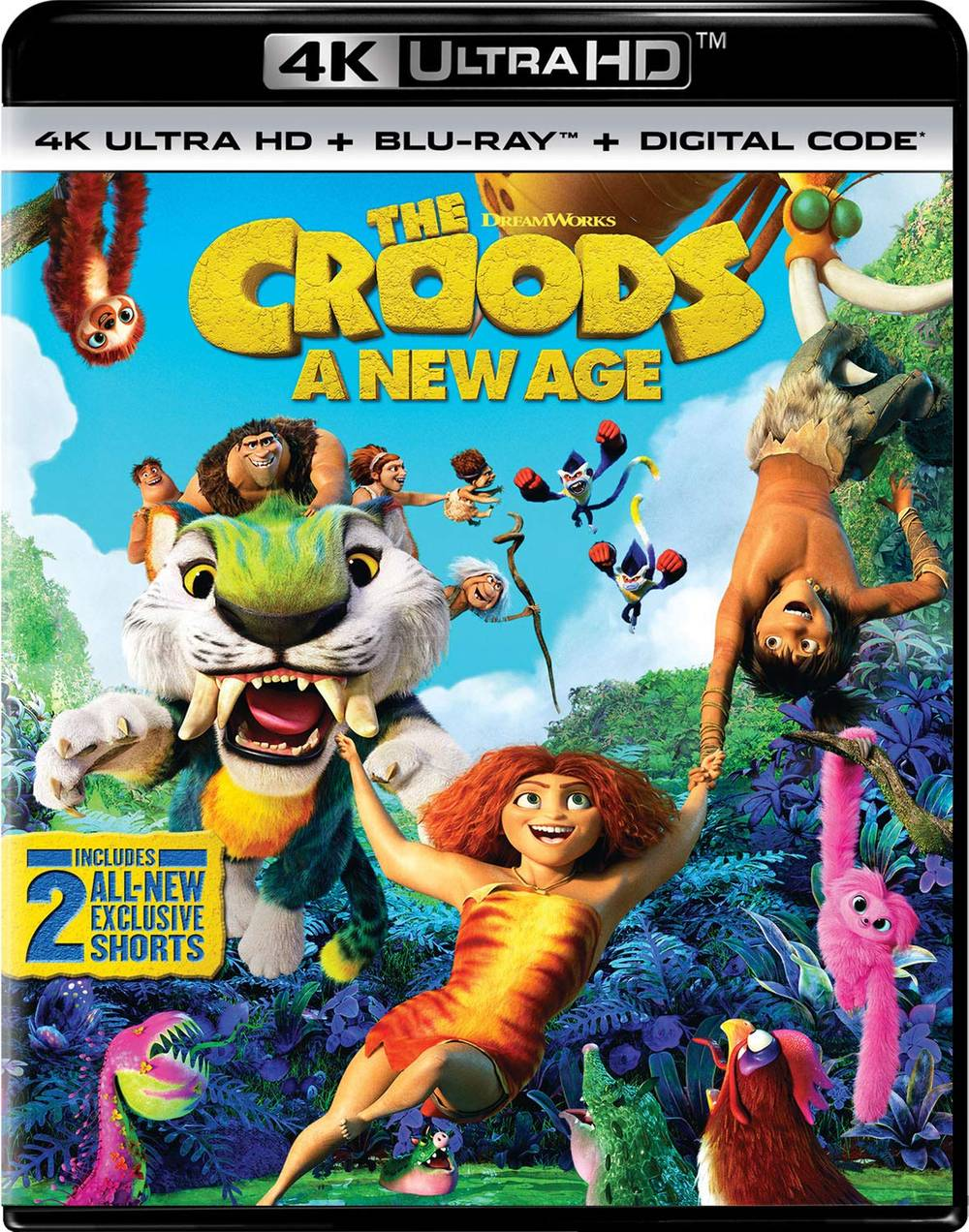 The Croods [Movie] - The Croods: A New Age (4k Ultra HD + Blu-ray + Digital Code)