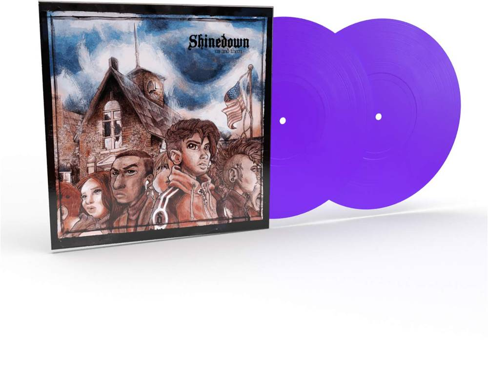 Shinedown - Us And Them [Limited Edition Clear Purple 2LP]