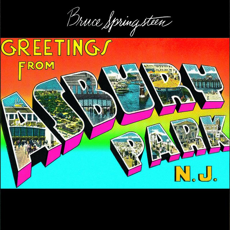 BRUCE SPRINGSTEEN GREETINGS FROM ASBURY PARK, NJ