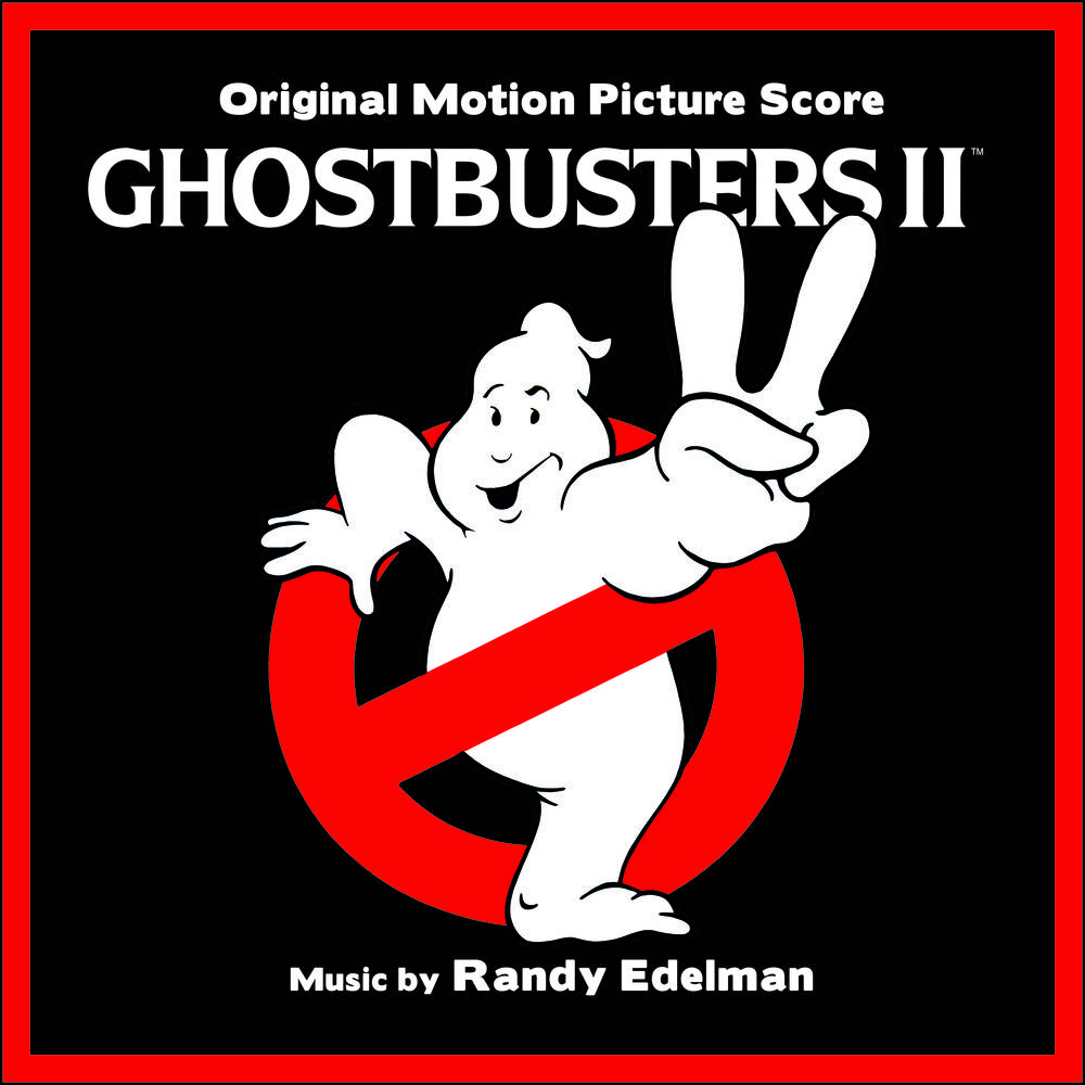 Randy Edelman - Ghostbusters II (Original Motion Picture Soundtrack) [Clear With Pink Slime LP]