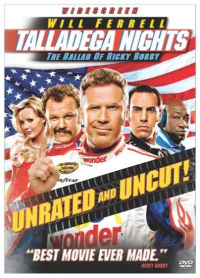 - Talladega Nights: The Ballad Of Ricky Bobby (Unrated Widescreen Edition)