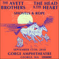 Win Tickets To Avett Brothers, Head & The Heart, Shovels & Rope At The Gorge!
