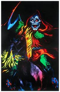 blacklight poster  - DEATH RIDER BLACKLIGHT POSTER