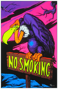 blacklight poster  - NO SMOKING BLACKLIGHT POSTER