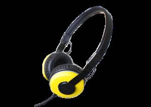 YELLOW ZHP-500 HEADPHONES