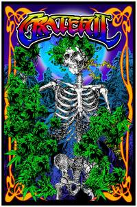 blacklight poster  - GRATEFUL BLACKLIGHT POSTER