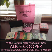 Alice Cooper Prize Package