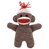 Baby - Schylling Baby Sock Monkey - Brown