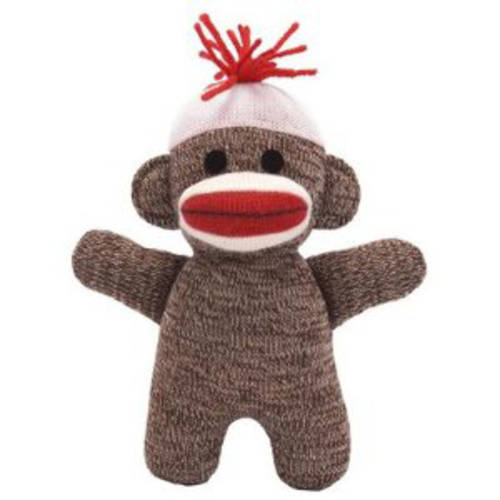 Schylling Baby Sock Monkey - Brown