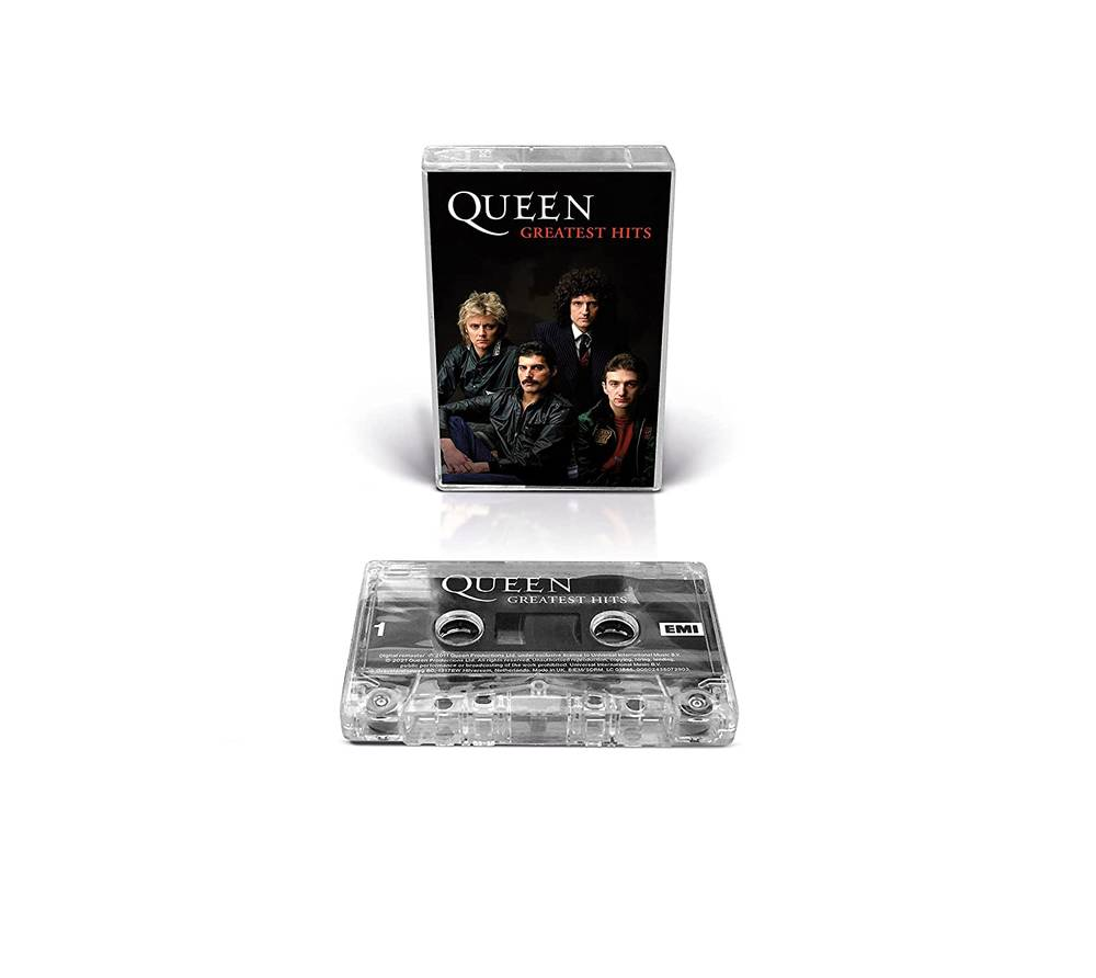 Queen - Greatest Hits [Clear Cassette]
