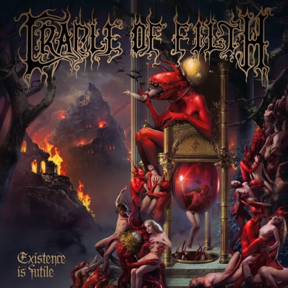 Cradle Of Filth - Existence Is Futile [Indie Exclusive Limited Edition Gold & Black Corona 2LP]