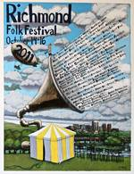 2011 Richmond Folk Festival Poster