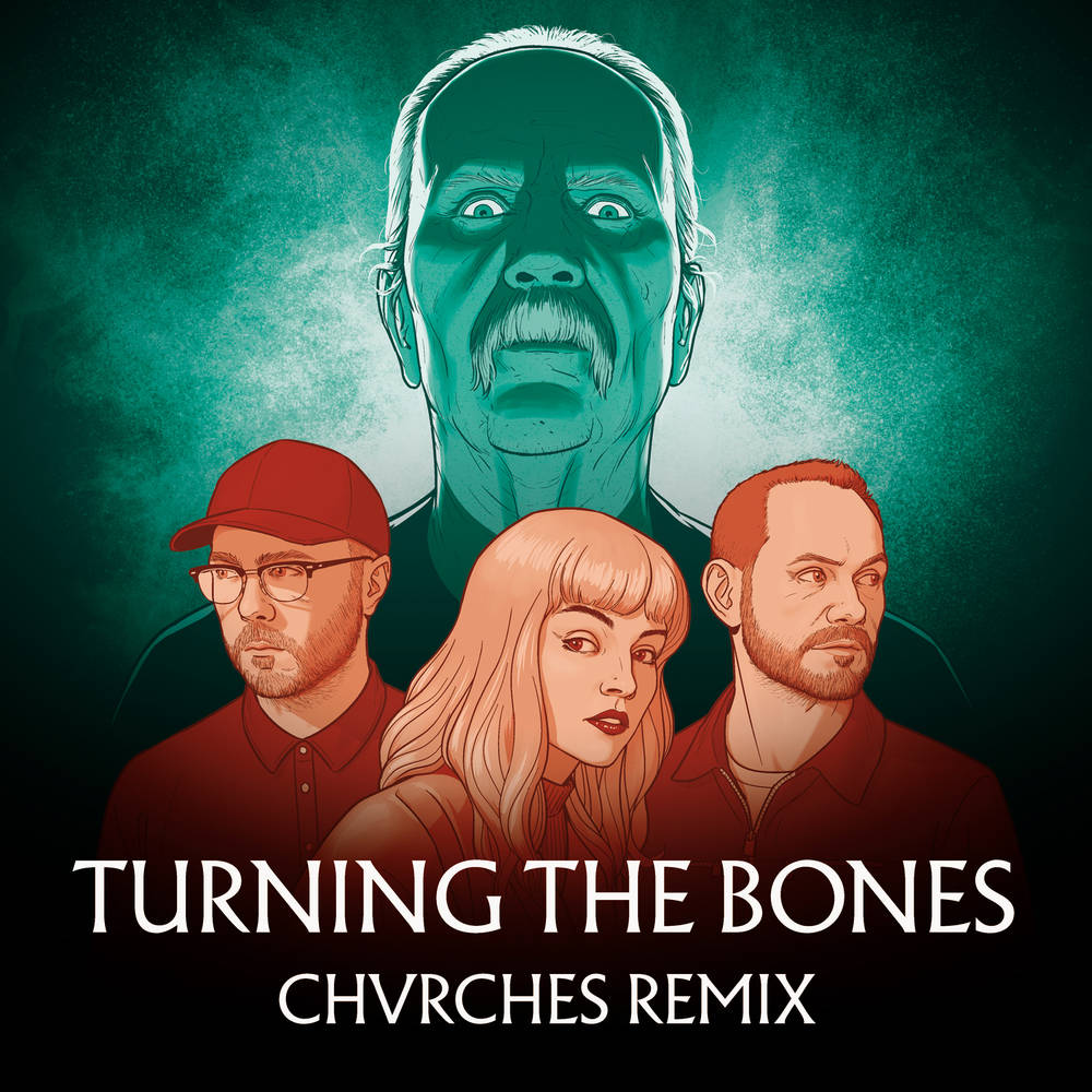 John Carpenter & Chvrches - Turning The Bones (Chvrches Remix) [Blue/Pink/Clear Marble Swirl 7in Vinyl]