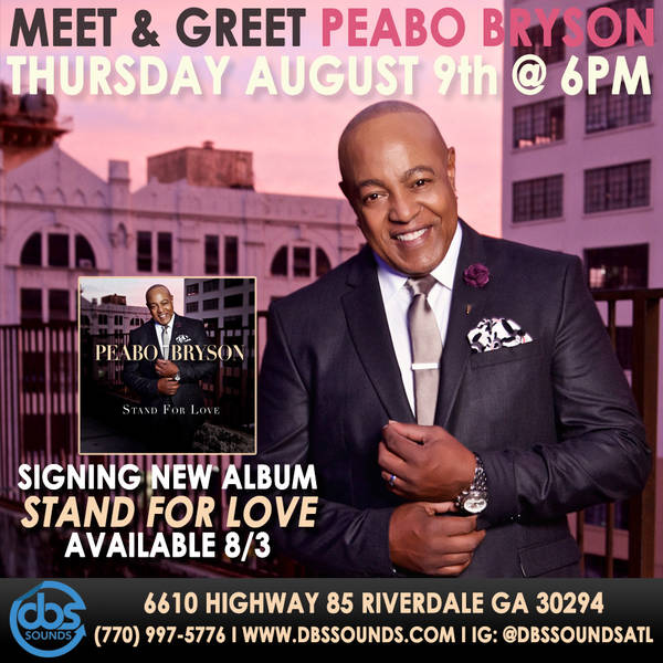 Peabo Meet & Greet