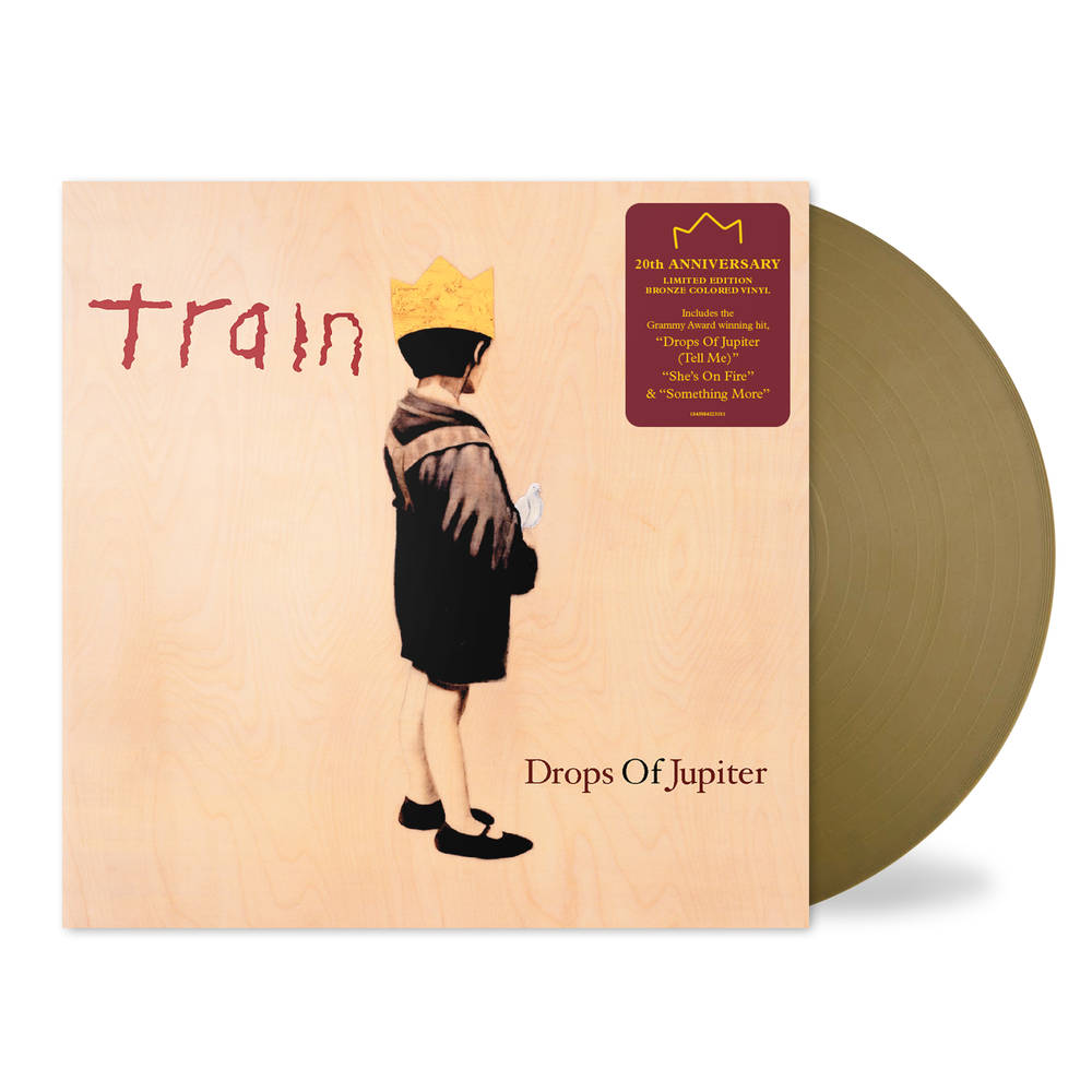 Train - Drops Of Jupiter: 20th Anniversary Edition [Bronze LP]