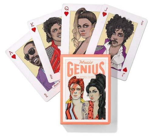 Playing Cards - Music Genius Card Deck