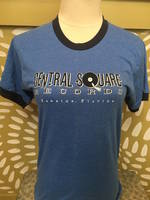 Central Square Records - CSR RINGER TEE NAVY/BLUE