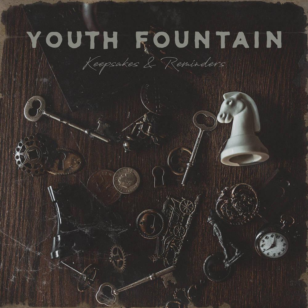 Youth Fountain - Keepsakes & Reminders [Indie Exclusive Limited Edition Brown In Beer w/Heavy Bone Splatter LP]