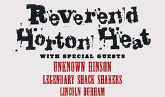 Win Tickets To Reverend Horton Heat!