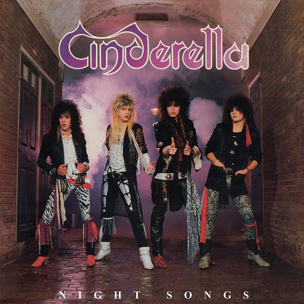Cinderella - Night Songs [Limited Edition Anniversary Edition 180 Gram Translucent Red Audiophile LP]