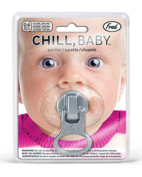 Fred Chill, Baby Pacifier - Zip It