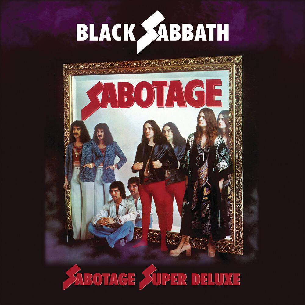 Black Sabbath - Sabotage: Super Deluxe Edition [4CD]