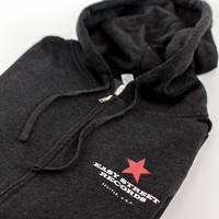 Easy Street Records - Charcoal Zip Up Hoodie [XS]