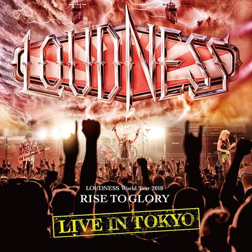Loudness World Tour 2018 Rise To Glory Live In Tokyo [Import 2DVD+CD]