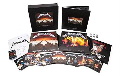 Master Of Puppets: Remastered [Deluxe Box Set]