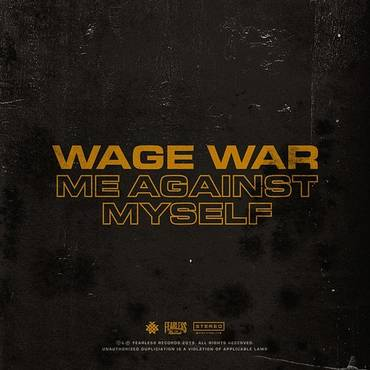 Me Against Myself - Single