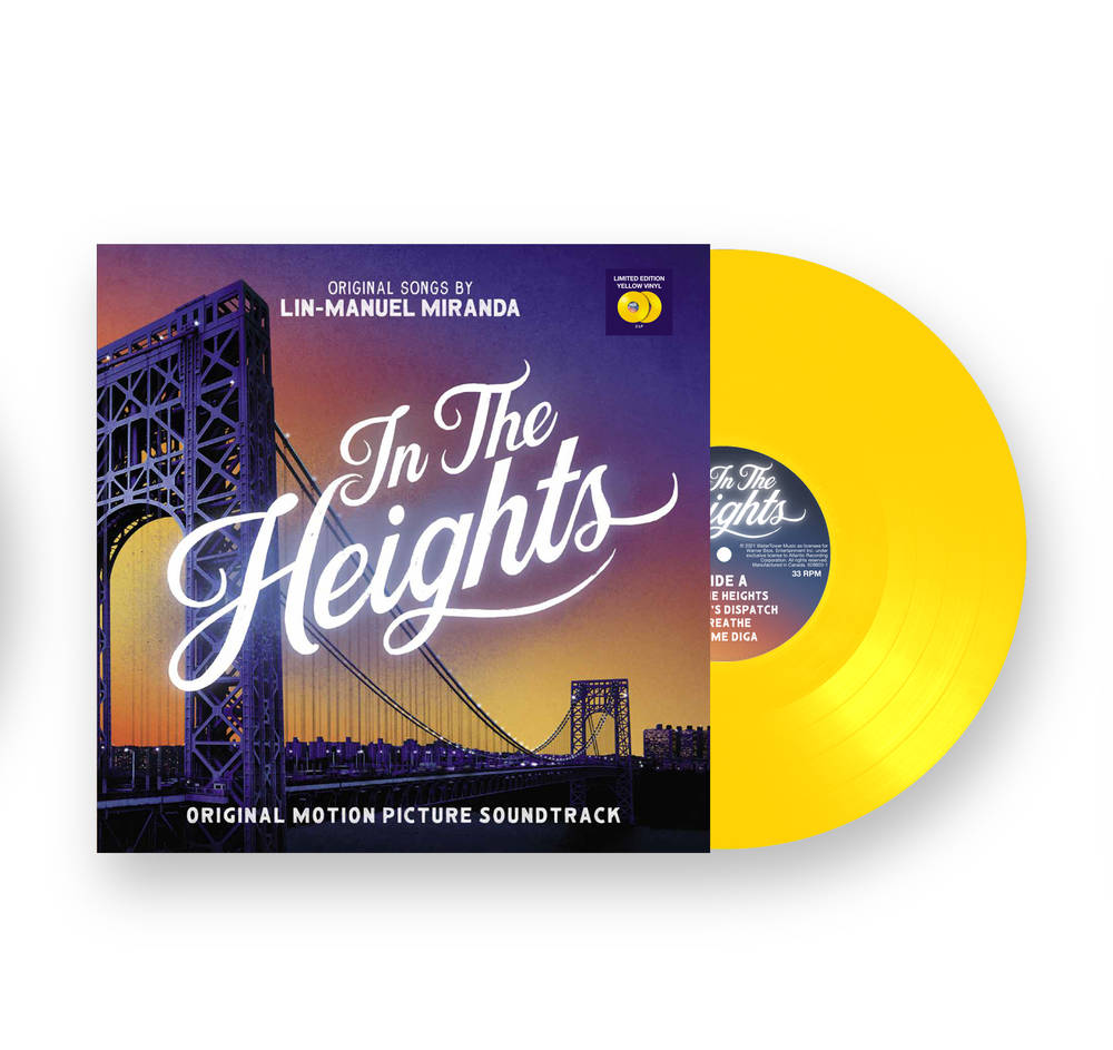 Lin-Manuel Miranda - In The Heights (Official Motion Picture Soundtrack) [Limited Edition Gold 2 LP]