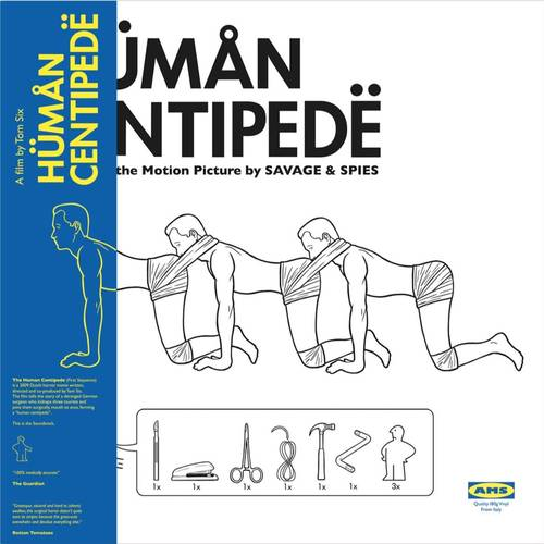 Savage & Spies - The Human Centipede (Music From the Motion Picture) [Yellow LP]