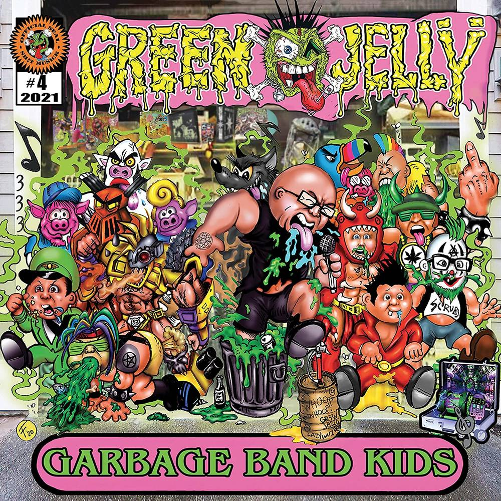Green Jelly - Garbage Band Kids [Deluxe Green & Yellow Splatter LP]