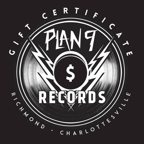 Gift Certificate - $15.00 [Vinyl Record & Sleeve - $1.50 Shipping]
