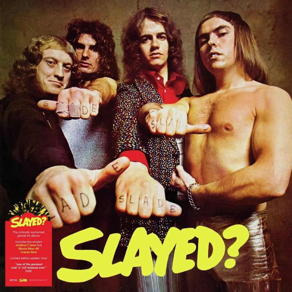 Slade - Slayed [Yellow & Black Splatter LP]