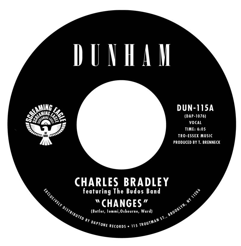 Charles Bradley ft. Budos Band and The Bullets Changes b w Ain't It A Sin