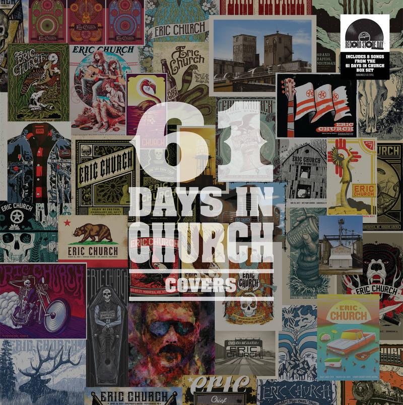 Eric Church 61 Days In Church Covers